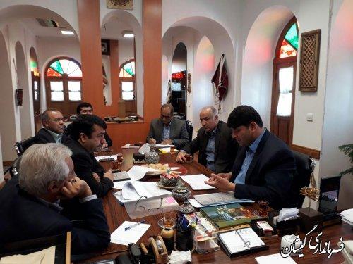 دیدار فرماندار گمیشان با مدیرکل میراث فرهنگی، صنایع دستی و گردشگری استان