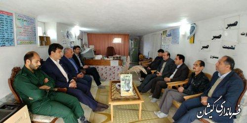 بازدید فرماندار گمیشان از مرکز ترک اعتیاد ساحل نشاط