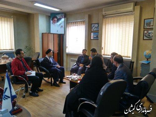 فرماندار گمیشان با رئیس دانشگاه آزاد اسلامی استان دیدار و گفتگو کرد