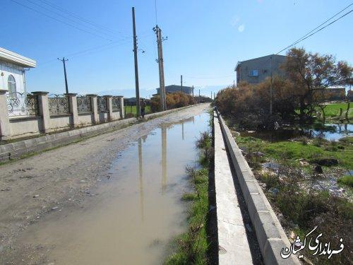 بازدید فرماندار گمیشان از روستاهای دهنه و توماجلر چارقلی