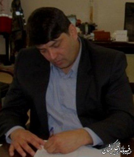 فرماندار گمیشان در پیامی عروج ملکوتی افسران و کارکنان نفتکش ایرانی را تسلیت گفت