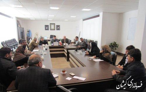 جلسه هم اندیشی مدیران کانال ها و گروه های شبکه مجازی شهرستان گمیشان برگزار شد