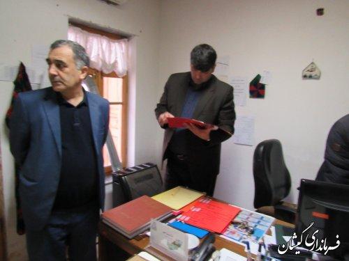 بازدید سرزده فرماندار گمیشان از میراث فرهنگی، صنایع دستی و گردشگری شهرستان