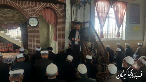 آخرین دستاورد های نظام و اقدامات دولت در شهرستان را تشریح کرد