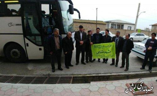 46 نفر از مددجویان کمیته امداد امام(ره) به مشهد مقدس اعزام شدند