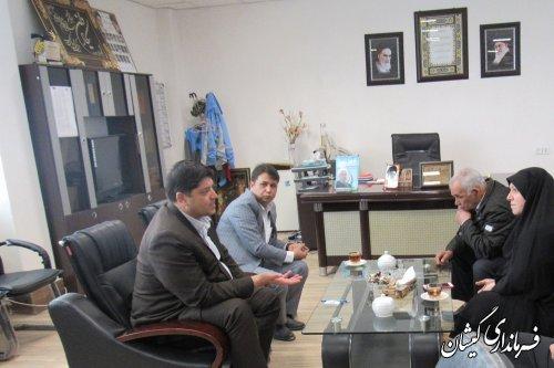 نشست هماهنگی بررسی وضعیت زمین دانشگاه آزاد شهرستان گمیشان برگزار شد