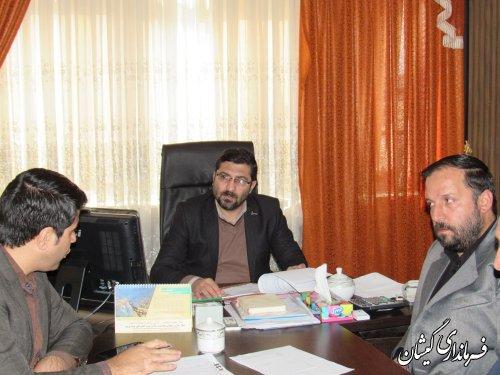 جلسه کمیته فنی کارگروه اشتغال شهرستان گمیشان برگزار شد