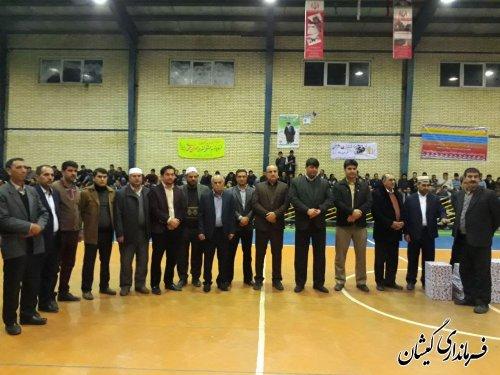 تقدیر از ورزشکاران افتخار آفرین روستای خواجه نفس در جام قهرمان روستای استان
