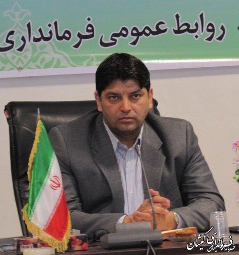 پیام تبریک فرماندار شهرستان گمیشان به مناسبت روز راهیان نور