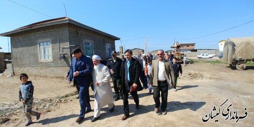 دومین حضور و بازدید کاروان امید و اقدام شهرستان از روستای آلتین تخماق برگزار شد