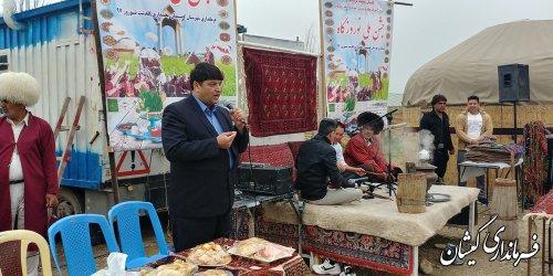 جشنواره فرهنگ و اقتصاد روستا در قرنجیک خواجه خان بخش گلدشت برگزار شد