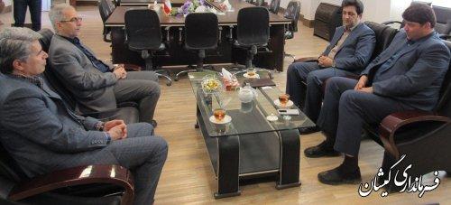 اولین نشست مشترک فرمانداران غرب استان در سال جدید
