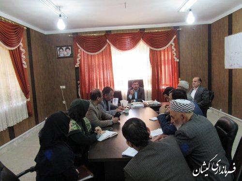 دومین جلسه هماهنگی مراسم بزرگداشت شاعر ترکمن مختومقلی فراغی برگزار شد