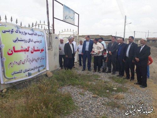 مراسم افتتاحیه پلاک کوبی روستای آلتین تخماق برگزار شد