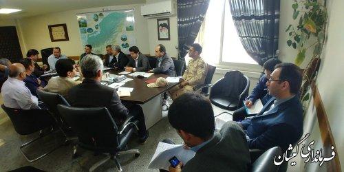 اولین جلسه برنامه ریزی تدوین راهبردی-عملیاتی توسعه پایدار گمیشان برگزار شد