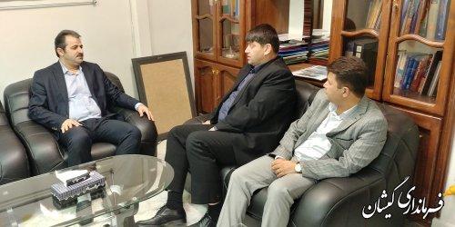 تسریع در استقرار اداره ثبت اسناد و املاک در شهرستان گمیشان