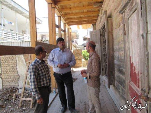 خانه های ارزشمند تاریخی شهرستان فرصتی برای توسعه گردشگری است