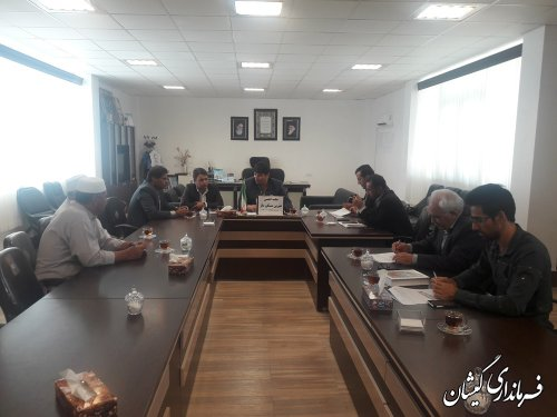 جلسه انجمن خیرین مسکن ساز شهرستان برگزار شد