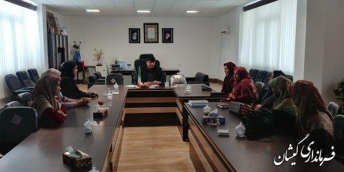 لزوم تشکیل سازمان مردم نهاد ویژه بانوان شهرستان