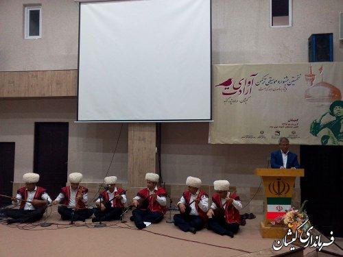 موسیقی ترکمنی زبانی برای بیان غم ها و شادی ها است