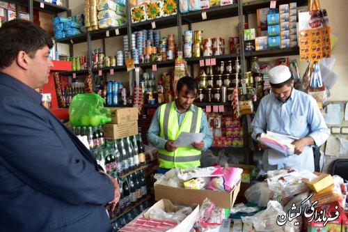 گشت بازرسی اعضای ستاد تنظیم بازار شهرستان از فروشندگان منطقه انجام شد