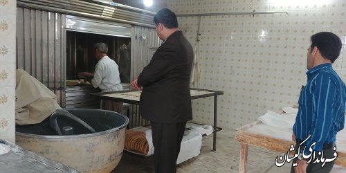 نانوایان در ارائه نان بهداشتی و با کیفیت دقت لازم را داشته باشند