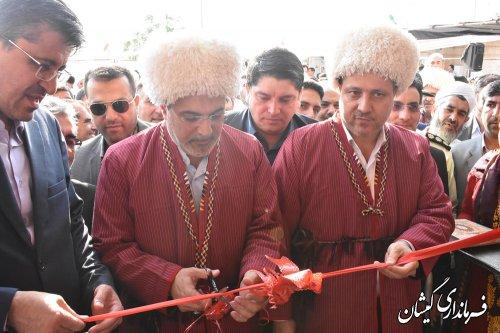 ساختمان اداره گاز سیمین شهر افتتاح و به بهره برداری رسید