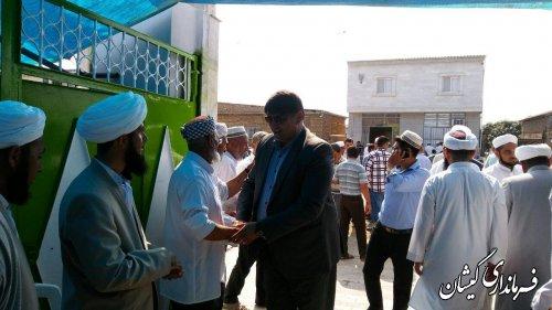 حضور فرماندار در مراسم فارغ التحصیلی طلاب حوزه علمیه محمدیه روستای کملر
