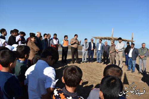 سواحل توماجلر چارقلی شهرستان پاکسازی شد