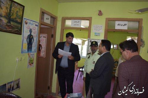 بازدید فرماندار گمیشان از مرکز درمانی و بازتوانی پیام
