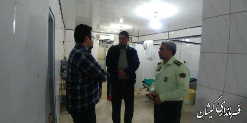بازدید فرماندار از دستگاه های خدماترسان سیمین شهر