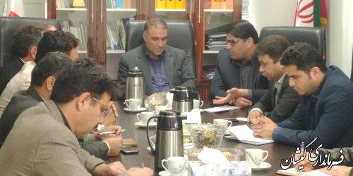 دیدار فرماندار گمیشان با مدیرکل راه و شهرسازی استان
