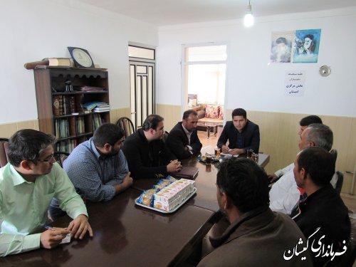 مشکلات طرح هادی روستای قره کیله بررسی شد