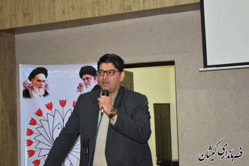 همایش پدافند غیرعامل در شهرستان گمیشان برگزار شد