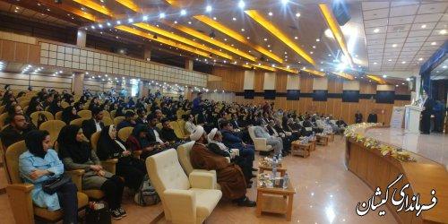 تجلیل از فرماندار گمیشان به عنوان انجمن کتابخانه برتر در سطح استان