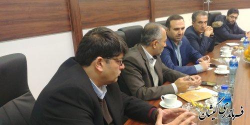 بازدید فرماندار گمیشان و مدیران کل استان از شرکت گلستان کاغذپرشیا