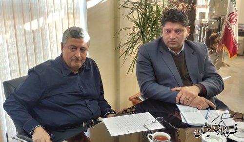 وضعیت پروژه های عمرانی و زیرساختی شهرستان گمیشان بررسی شد