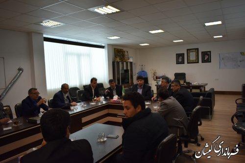 جلسه هماهنگی استقبال سفر کاروان تدبیر و امید در شهرستان برگزار شد