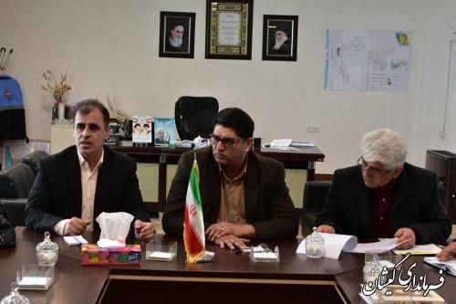 جلسه مشترک روابط عمومی های فرمانداری، جهادکشاورزی و شیلات استان
