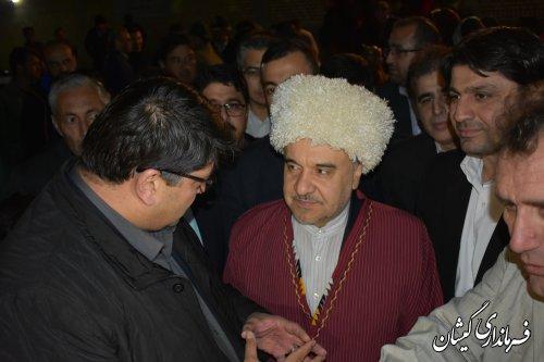 بازدید وزیر ورزش و جوانان از سالن ورزشی روستای قلعه جیق بزرگ
