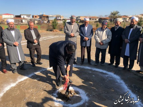 مراسم کلنگ زنی مسجد جامع سیمین شهر برگزار شد