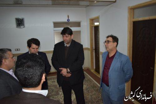 افتتاح مسکن دو معلوله در روستای بصیرآباد شهرستان گمیشان
