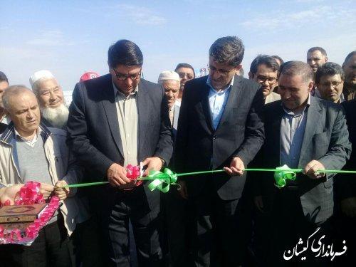 آسفالت مسیر دسترسی سقرتپه، توماچلر به سیمینشهر افتتاح شد