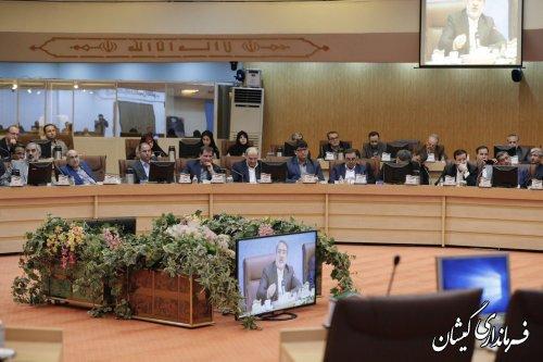 نشست هماهنگی عملیات اجرایی اسنادتوسعه۳۱شهرستان کمترتوسعهیافته به ریاست وزیرکشور