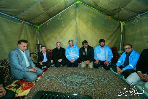 عرض تسلیت سرپرست استانداری به خانواده جانباختگان قایق واژگون شده مرکزشهرستان