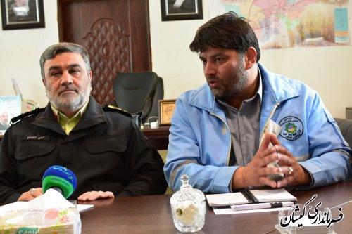 حضور نیروی انتظامی در سطح شهرستان قوت قلبی برای مردم منطقه بوده است