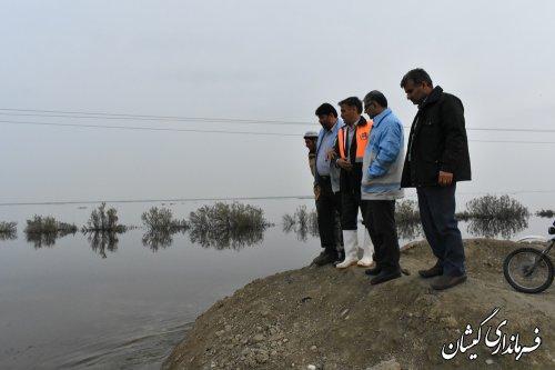 مسیردسترسی روستاهای نوارمرزی به مرکزشهرستان هفته جاری برقرار می شود