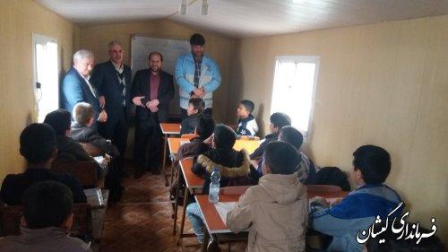 32 مدرسه شهرستان گمیشان در سیل دچار خسارت شده است