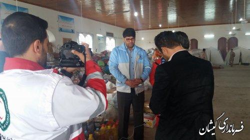 امروزاقلام بین 1800خانوارضلع شرقی مرکزشهرستان توزیع می شود