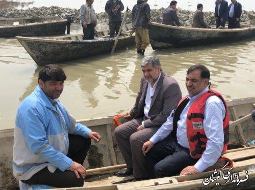 دیدار مدیرکل اطلاعات استان با فرماندار گمیشان